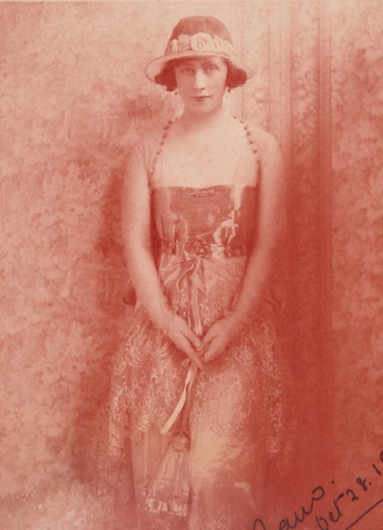 Bernice Agar, 'Studio Portrait of Dora Walford, nee Alexander', 1923